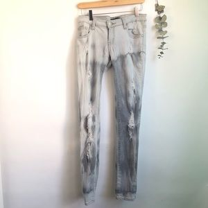 Costa Blanca Audrey Destroyed Skinny Jeans
